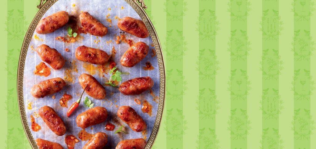 Petites saucisses au piment d'Espelette