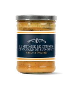 Mitonné de cuisses de canard du Sud-Ouest sauce à l'orange