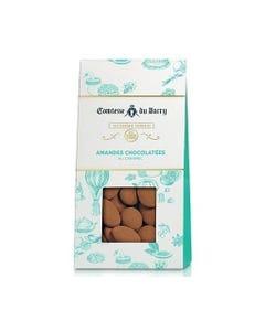 Amandes chocolatées au caramel