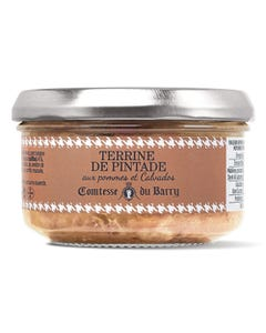 Terrine de pintade aux pommes et Calvados