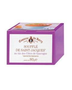 Soufflé de Saint-Jacques au vin des Côtes de Gascogne