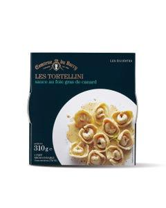 Tortellini sauce au foie gras de canard