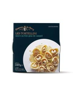 Les tortellini sauce au foie gras de canard