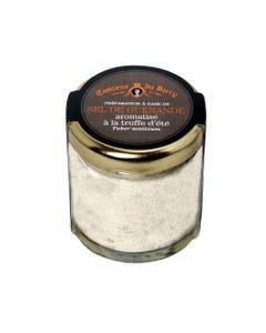 Préparation à base de sel de Guérande aromatisé à la truffe d'été